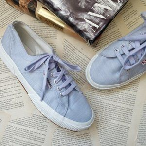NWOT SUPERGA 2750 Lace Up 6 Eye Sneakers